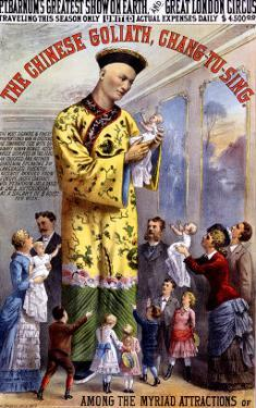 P.T. Barnum and the Great London Circus: The Chinese Goliath by Chang-Tu-Sing