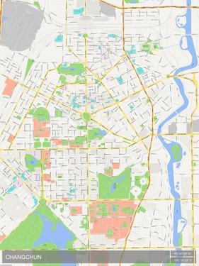 Changchun, China Map