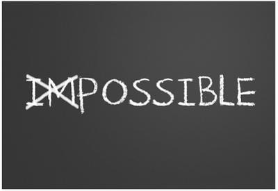 Changing Impossible Into Possible