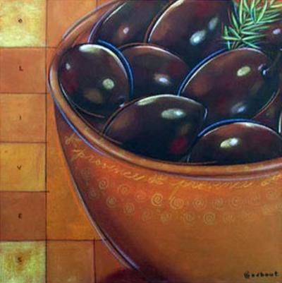 Bol Olives Noires