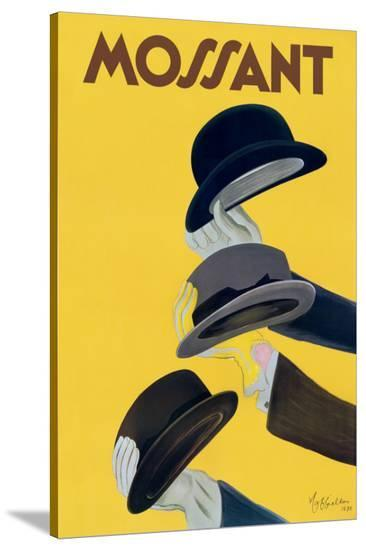 Chapeau Mossant-Leonetto Cappiello-Stretched Canvas Print