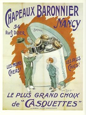 Chapeaux Baronnier