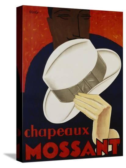 Chapeaux Mossant, 1928-Olsky-Stretched Canvas