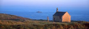 Chapel on the Coast, Saint-Samson Chapel, Portsall, Finistere, Brittany, France
