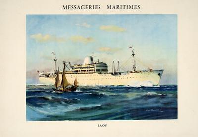Messagerie Maritimes - Laos