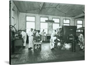 Harold S. Davies, Inc. Service Department, Circa 1930 by Chapin Bowen