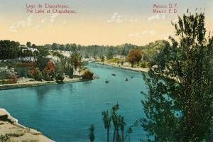 Chapultepec Lake, Mexico City
