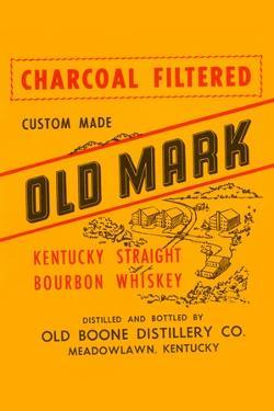 Charcoal Filtered Old Mark Kentucky Straight Bourbon Whiskey