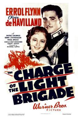 Charge of the Light Brigade, Olivia De Havilland, Errol Flynn, 1936
