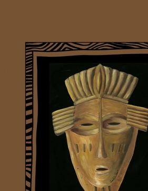 African Mask I by Chariklia Zarris