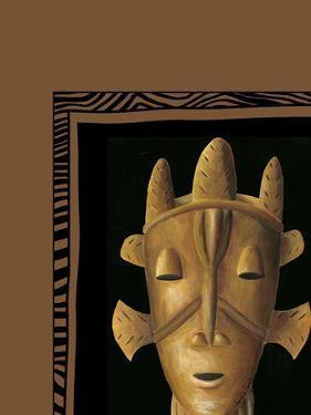 African Mask II by Chariklia Zarris