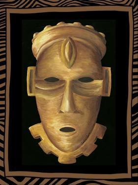 African Mask IV by Chariklia Zarris