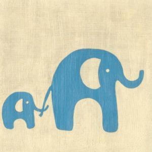 Best Friends - Elephants by Chariklia Zarris