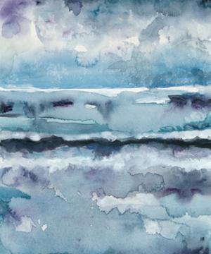 Blue Tide II by Chariklia Zarris