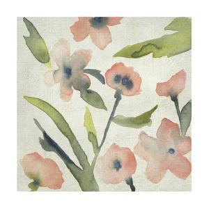 Blush Pink Blooms II by Chariklia Zarris