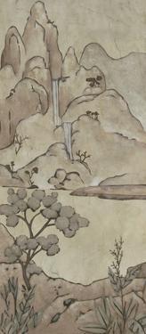 Chinoiserie Landscape II by Chariklia Zarris