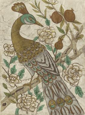 Chinoiserie Pheasant I by Chariklia Zarris