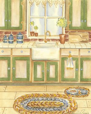 Country Kitchen I by Chariklia Zarris
