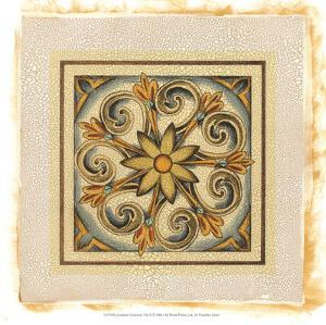 Crackled Cloisonne Tile II by Chariklia Zarris