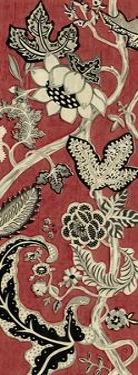 Crimson Embroidery II by Chariklia Zarris