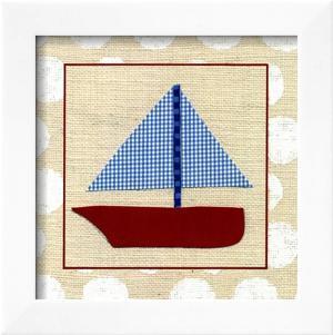 EJ's Sailboat by Chariklia Zarris