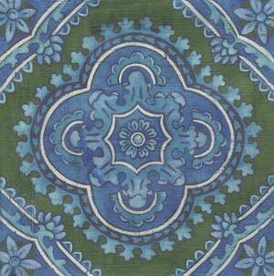 Embellished Rhapsody Tile I by Chariklia Zarris