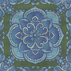 Embellished Rhapsody Tile II by Chariklia Zarris