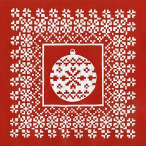 Fair Isle Snowflake V by Chariklia Zarris