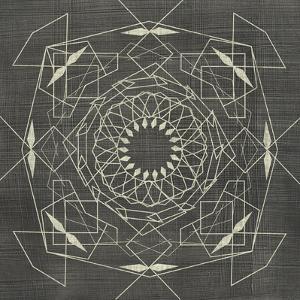 Geometric Tile V by Chariklia Zarris