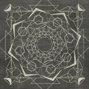 Geometric Tile VI by Chariklia Zarris