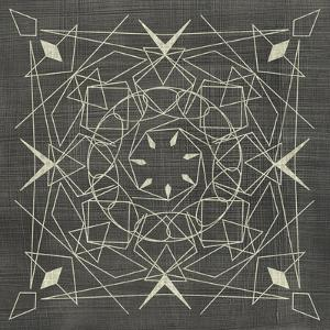 Geometric Tile VIII by Chariklia Zarris