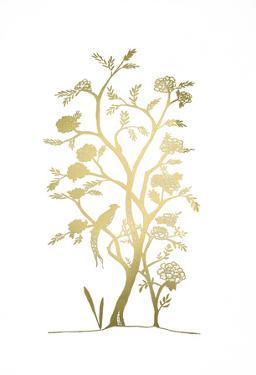 Gold Foil Chinoiserie III by Chariklia Zarris