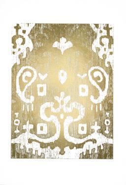 Gold Foil Ikat I by Chariklia Zarris