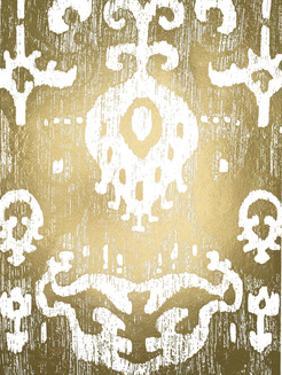 Gold Foil Ikat II by Chariklia Zarris