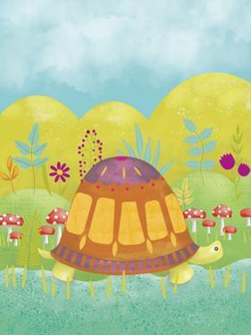 Happy Turtle I by Chariklia Zarris