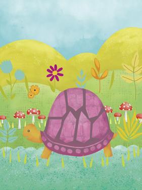 Happy Turtle II by Chariklia Zarris