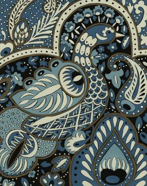 Indigo Peacock I by Chariklia Zarris