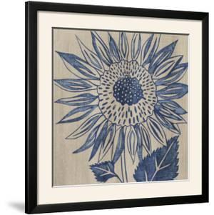 Indigo Sunflower by Chariklia Zarris