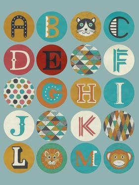 Lucien's Alphabet I by Chariklia Zarris