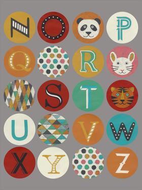 Lucien's Alphabet II by Chariklia Zarris