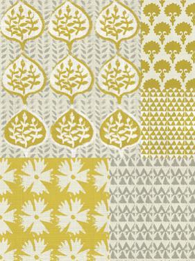 Marigold Patterns I by Chariklia Zarris