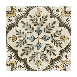 Non-Embellished Batik Square IX by Chariklia Zarris