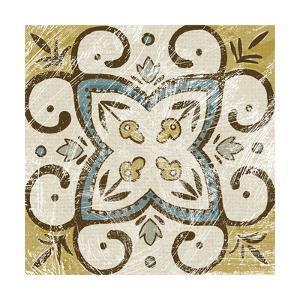 Non-Embellished Batik Square VI by Chariklia Zarris