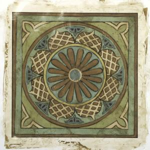 Ornamental Tile I by Chariklia Zarris