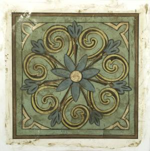 Ornamental Tile III by Chariklia Zarris