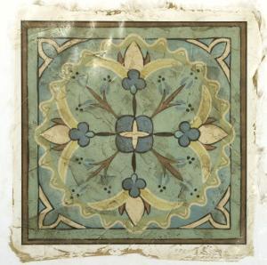 Ornamental Tile IV by Chariklia Zarris