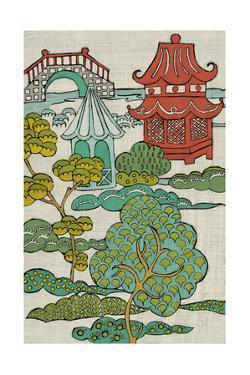 Pagoda Landscape II by Chariklia Zarris