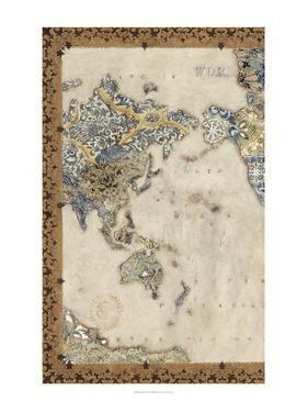 Royal Map I by Chariklia Zarris