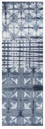 Shibori Collage II by Chariklia Zarris