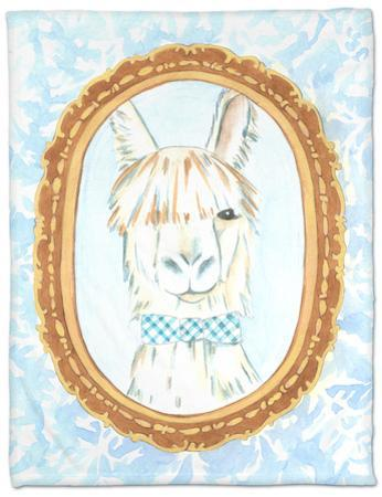 Teacher's Pet - Llama by Chariklia Zarris
